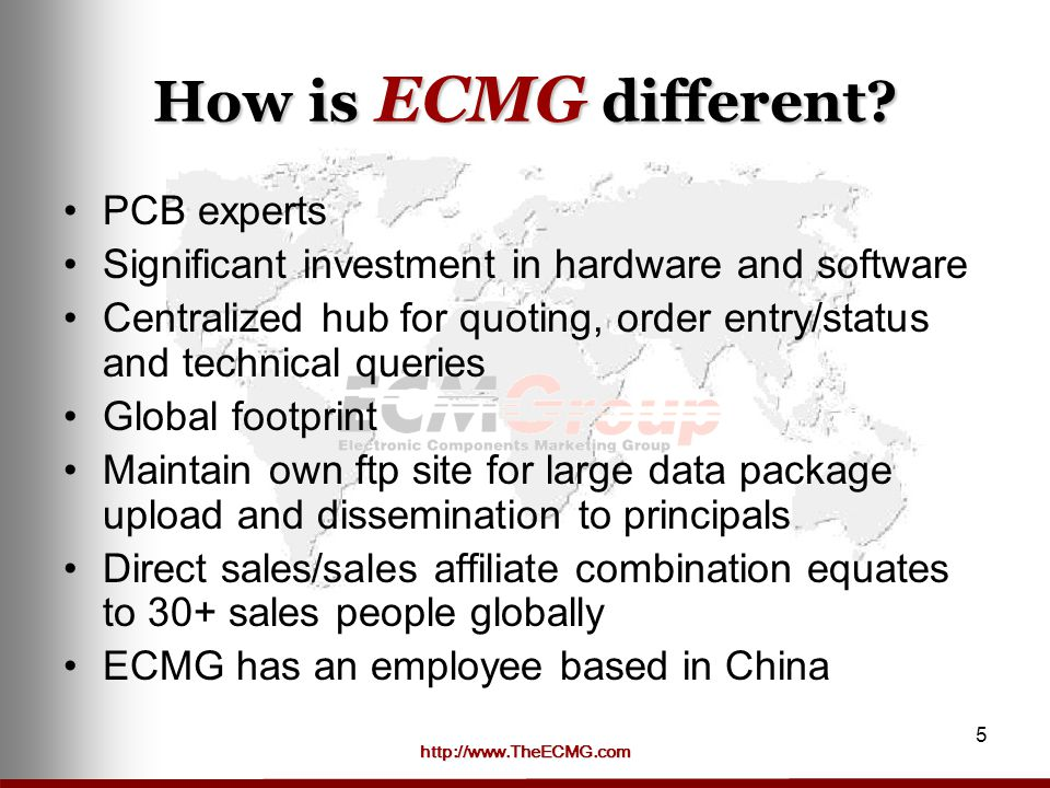 How is ECMG different PCB experts