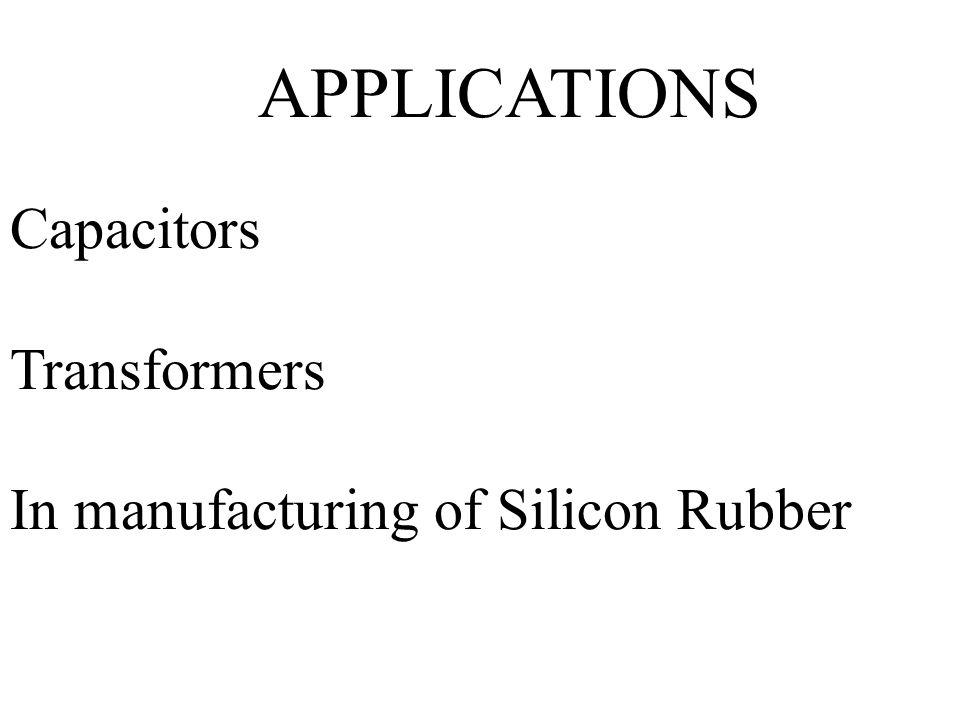 APPLICATIONS Capacitors Transformers