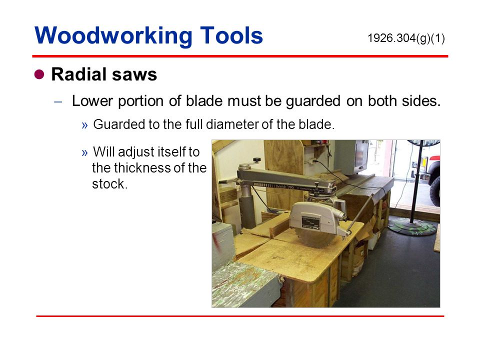 Woodworking Tools Radial saws