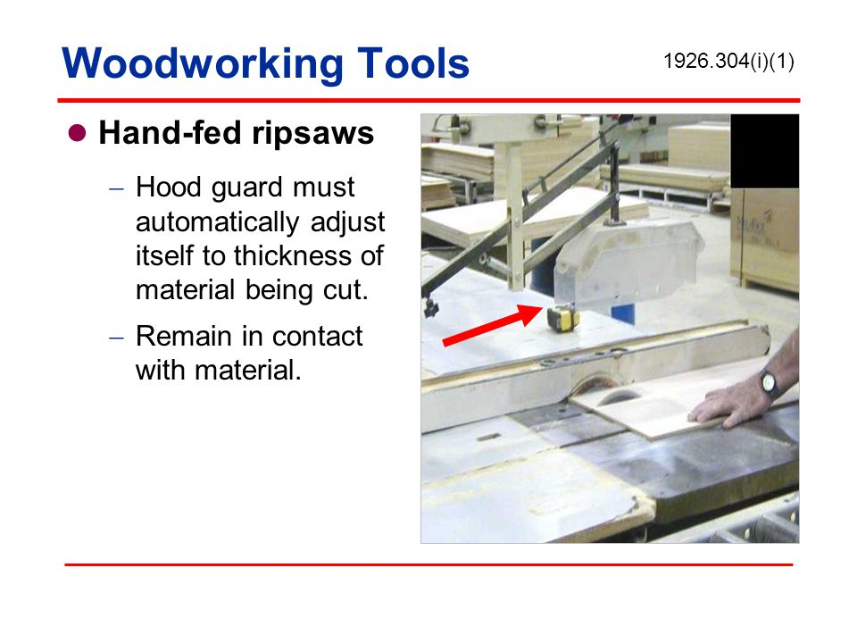 Woodworking Tools Hand-fed ripsaws
