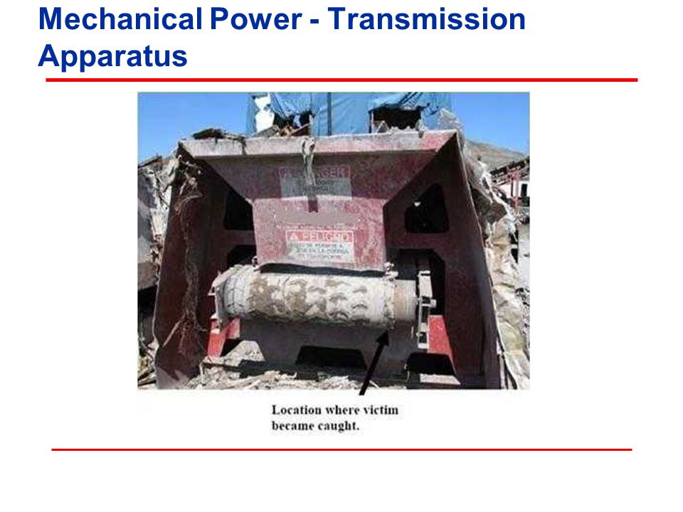 Mechanical Power - Transmission Apparatus