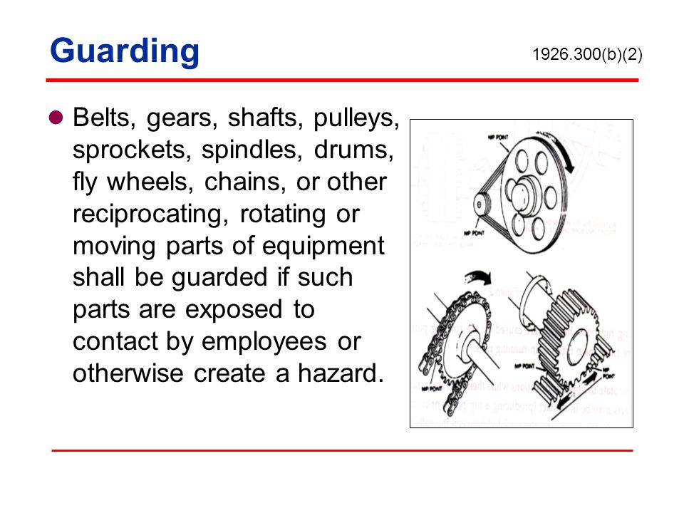 Guarding 1926.300(b)(2)