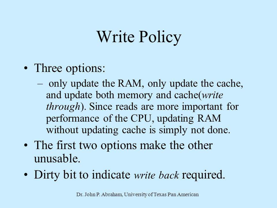 Dr. John P. Abraham, University of Texas Pan American