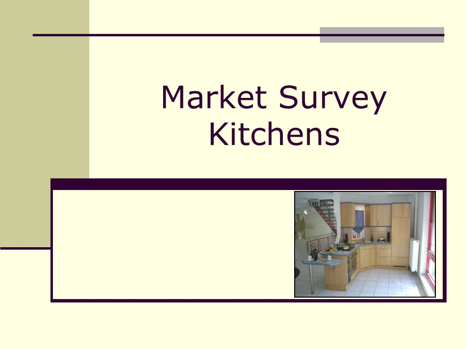 Market Survey Kitchens