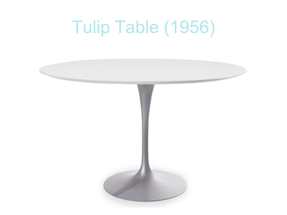 Tulip Table (1956)