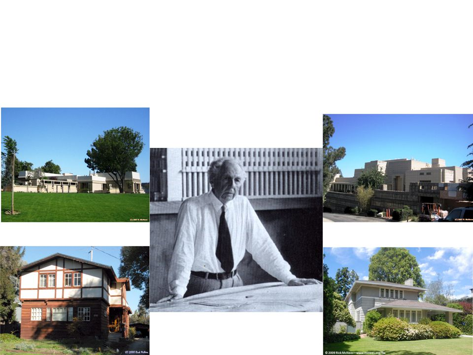 Homes Built Hollyhock House Charles Ennis House Santa Cruz