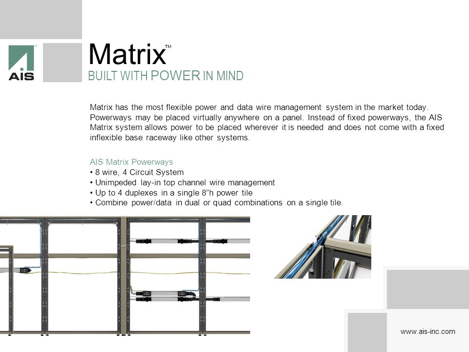Matrix BUILT WITH POWER IN MIND