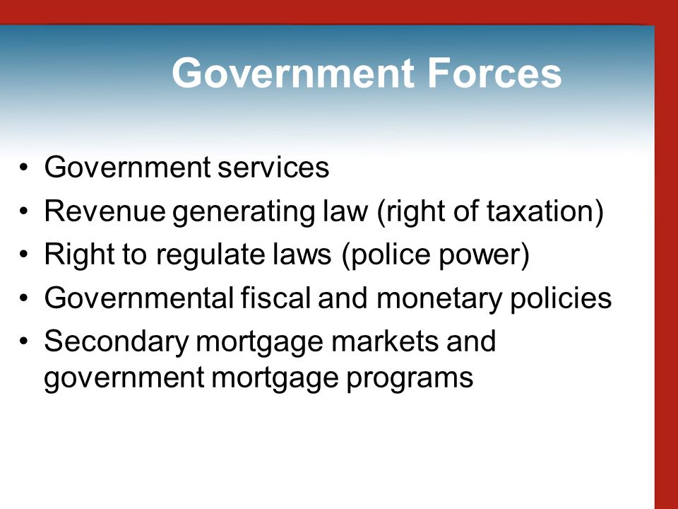 Government Forces Government services