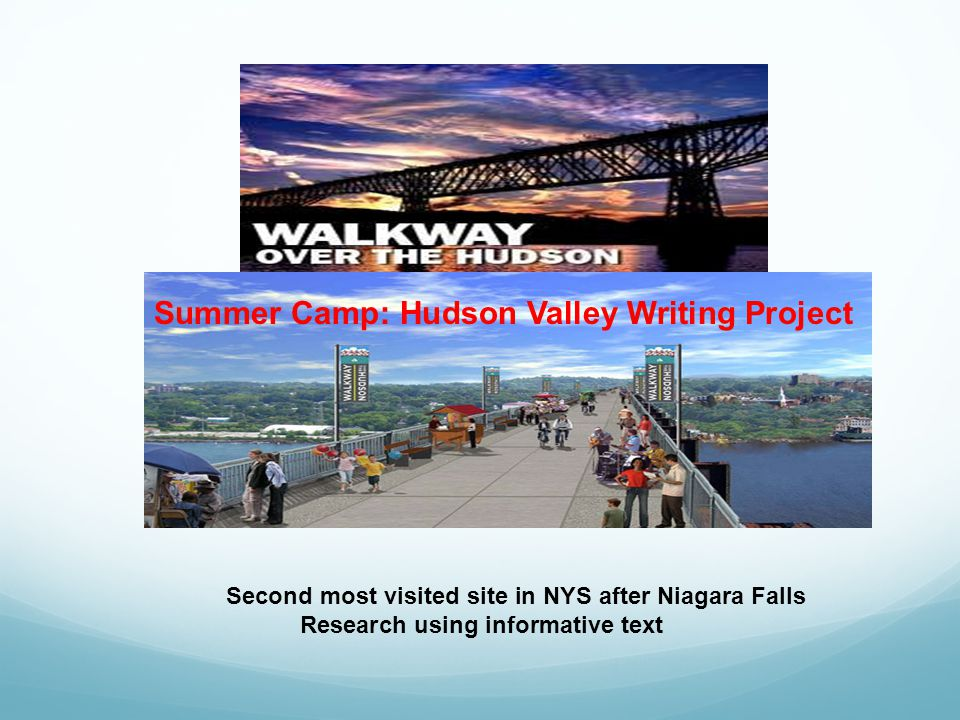 Summer Camp: Hudson Valley Writing Project