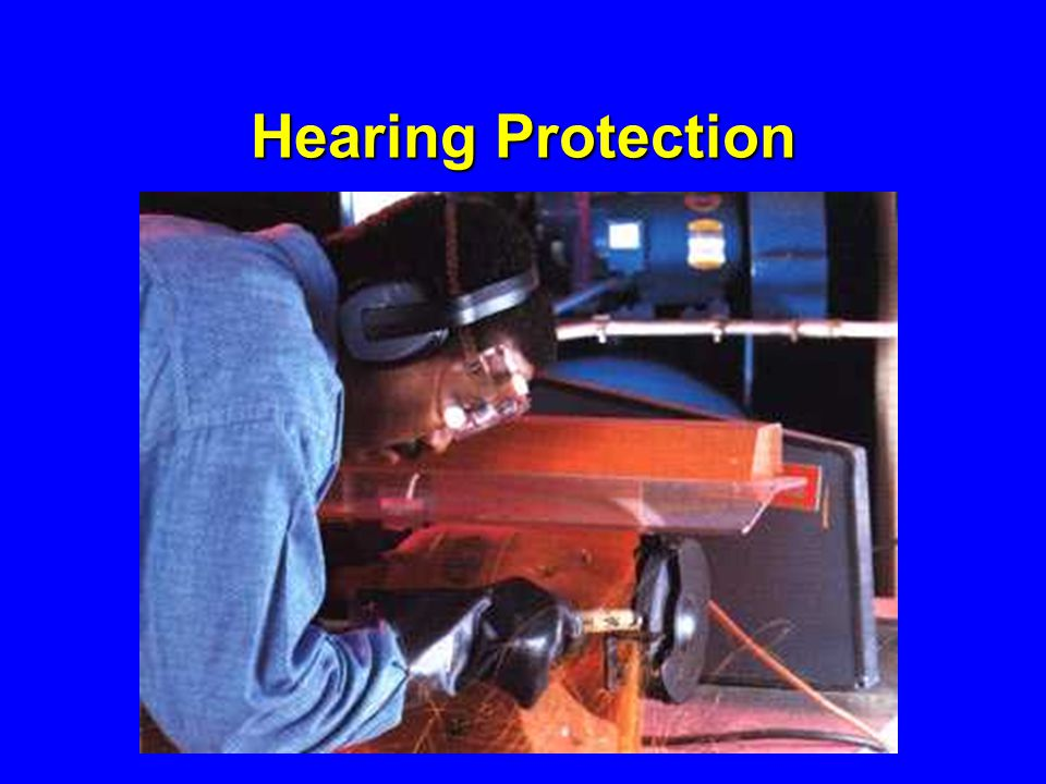 Hearing Protection Determining the need to provide hearing protection is complicated.