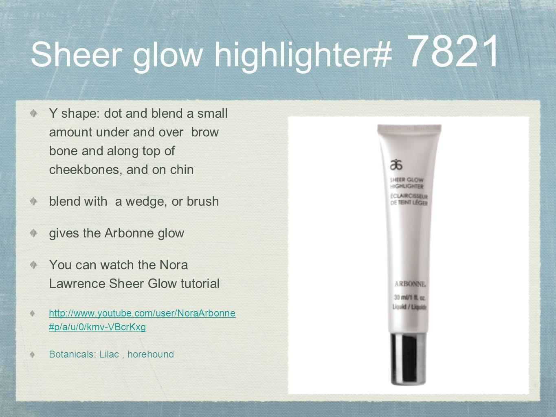 Sheer glow highlighter# 7821
