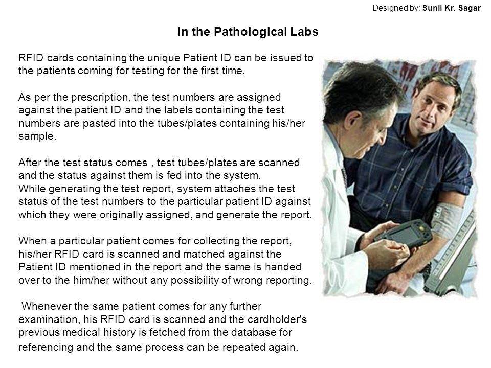 In the Pathological Labs