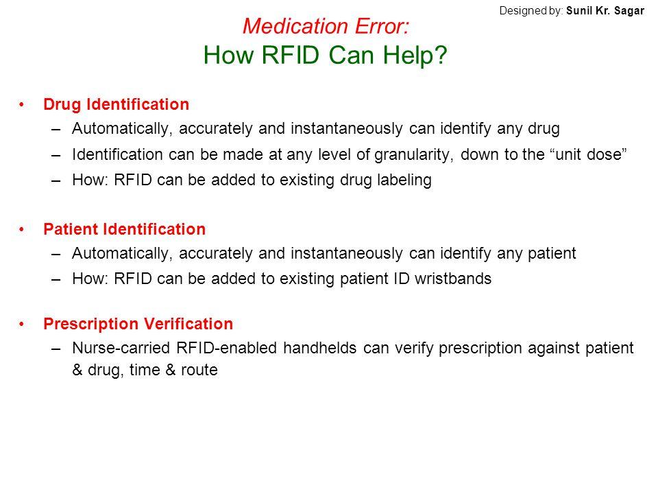 Medication Error: How RFID Can Help