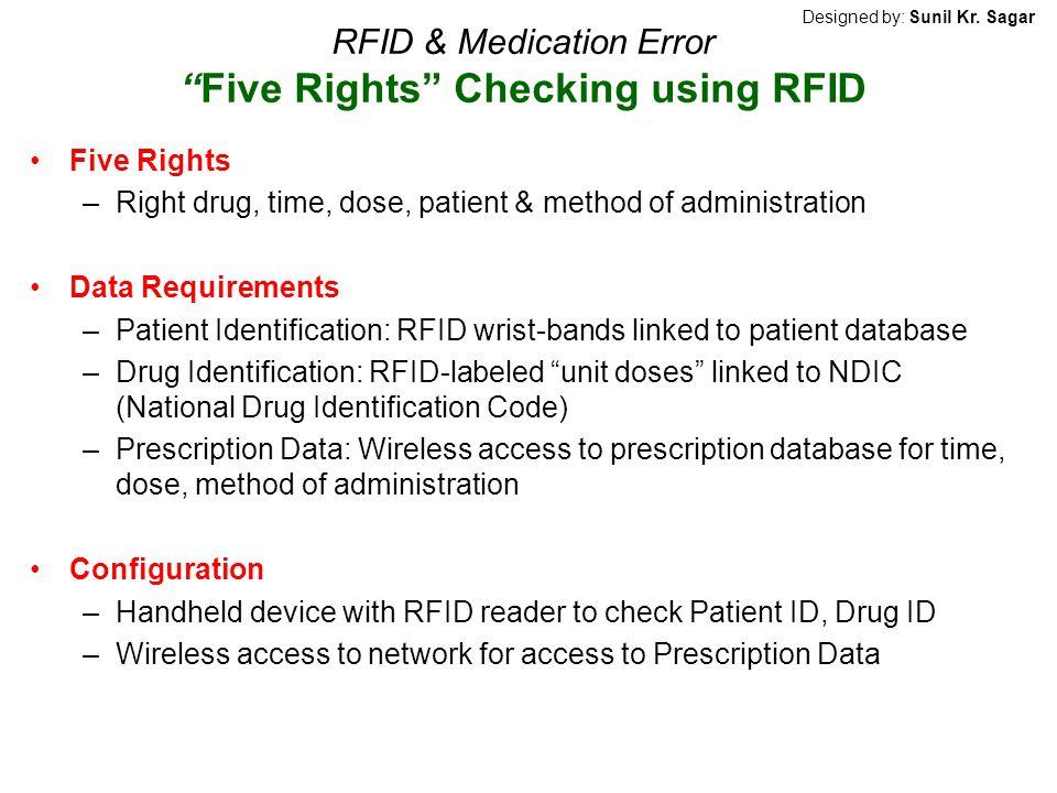 RFID & Medication Error Five Rights Checking using RFID