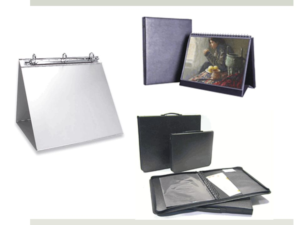 Simple case and binder Table Top Presentation Display Easel BindeMachina Aluminum 1 Easel Binders