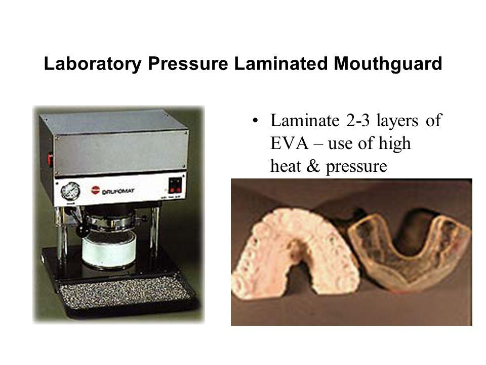 Laboratory Pressure Laminated Mouthguard