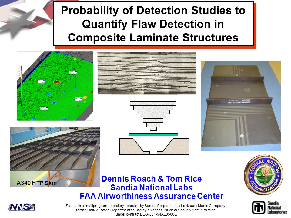 Probability of Detection Studies to Quantify Flaw Detection in