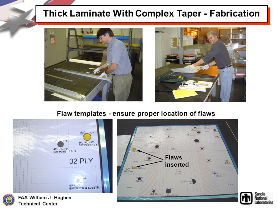 Thick Laminate With Complex Taper - Fabrication