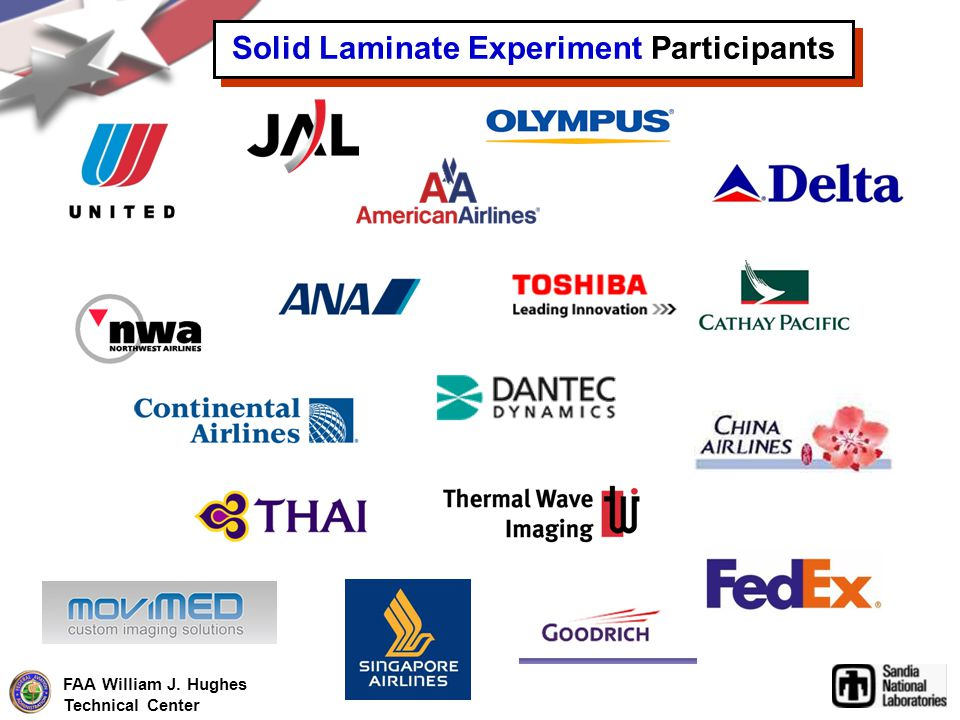 Solid Laminate Experiment Participants