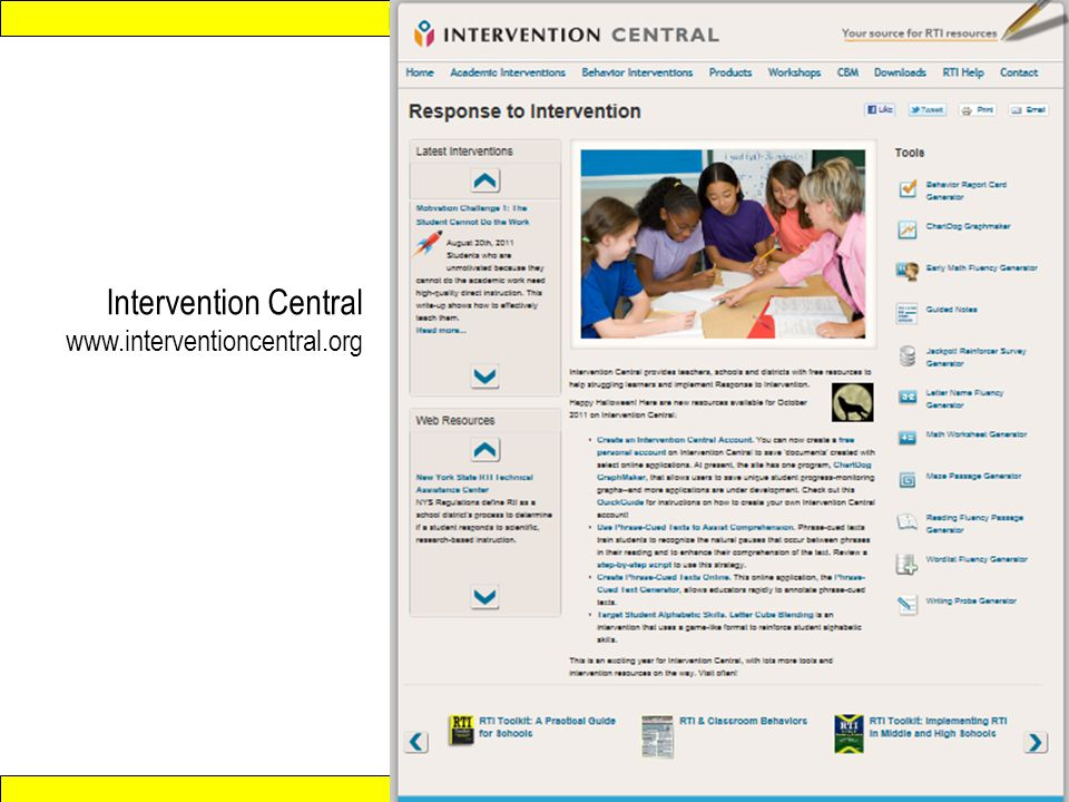 Intervention Central www.interventioncentral.org