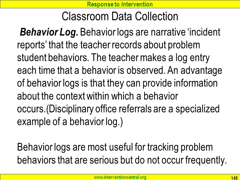 Classroom Data Collection