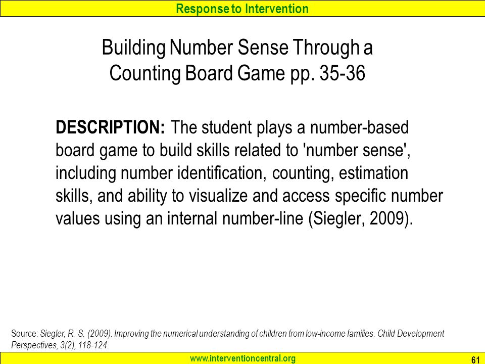 Building Number Sense Through a Counting Board Game pp. 35-36