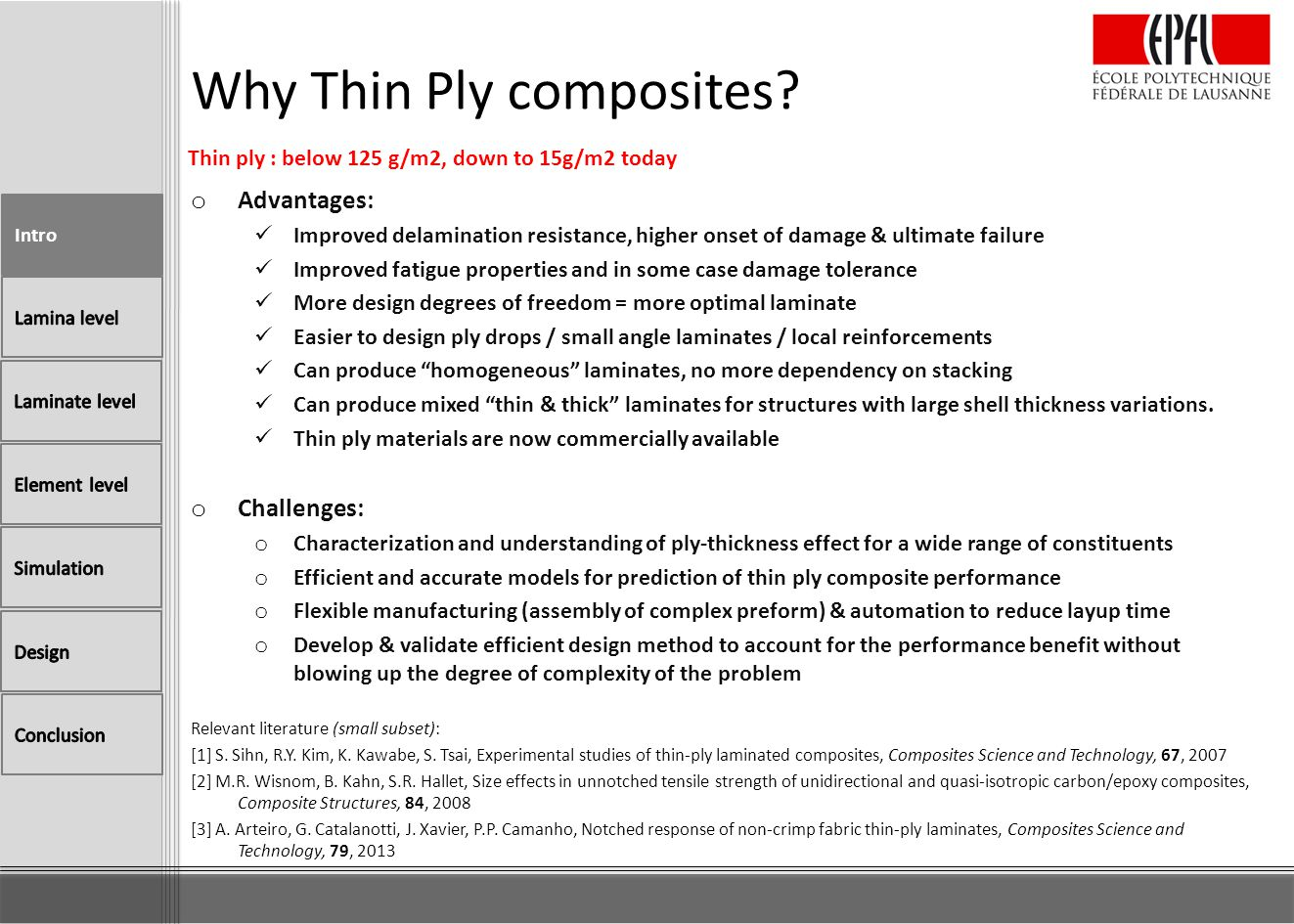 Why Thin Ply composites