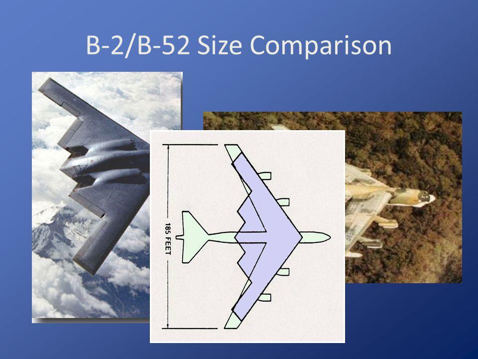 B-2/B-52 Size Comparison