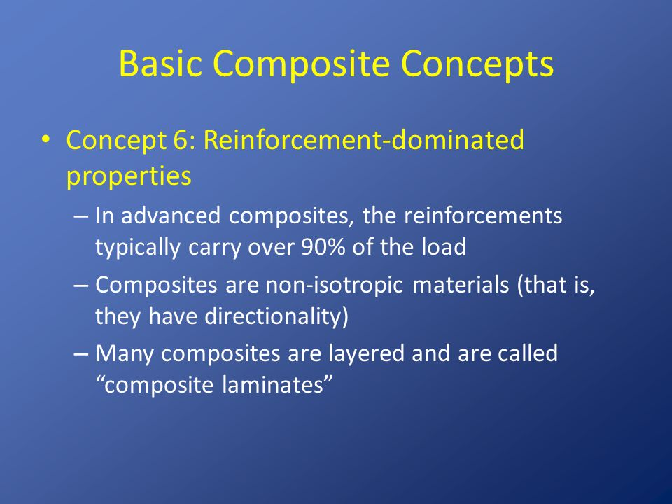 Basic Composite Concepts