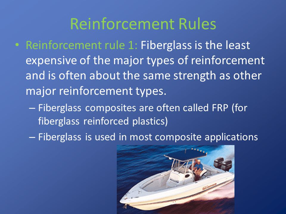 Reinforcement Rules