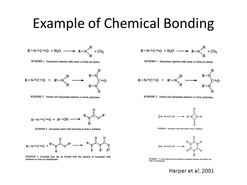 Example of Chemical Bonding