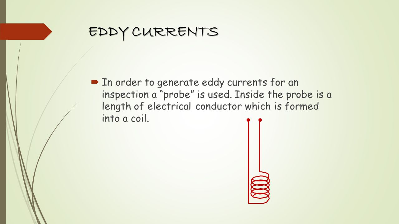 EDDY CURRENTS