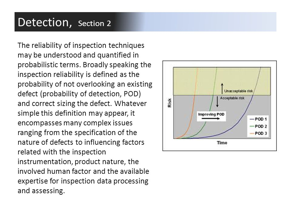 Detection, Section 2