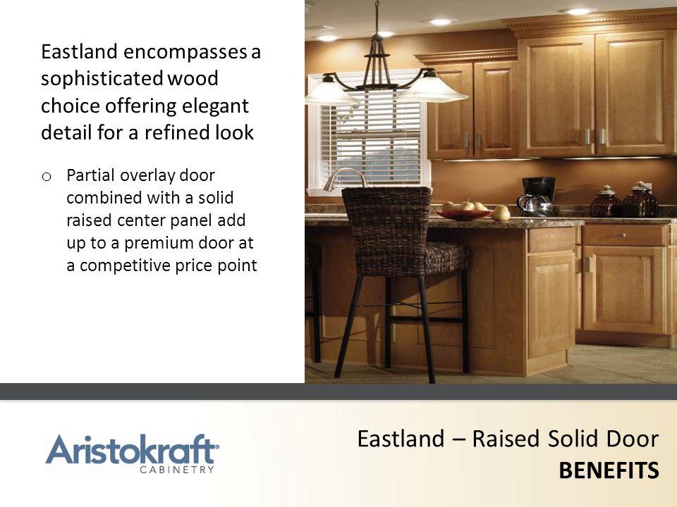 Eastland – Raised Solid Door BENEFITS