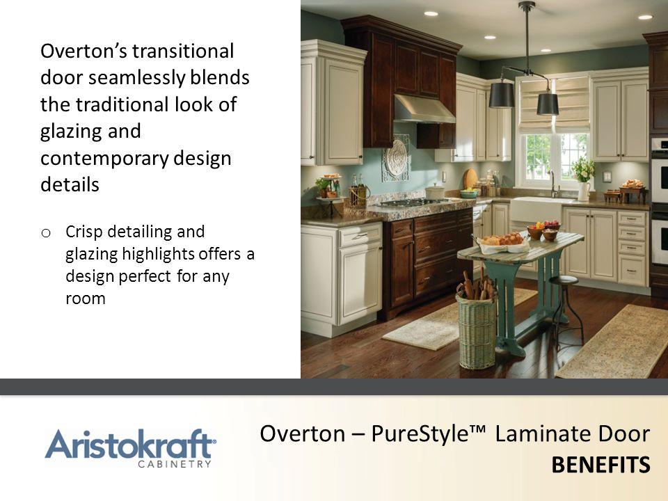 Overton – PureStyle™ Laminate Door BENEFITS