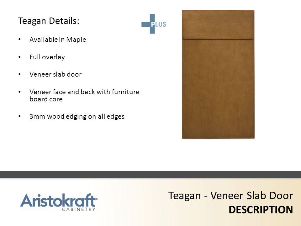 Teagan - Veneer Slab Door DESCRIPTION