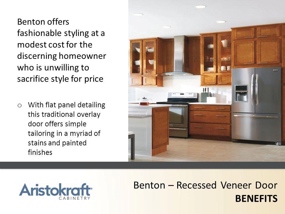 Benton – Recessed Veneer Door BENEFITS
