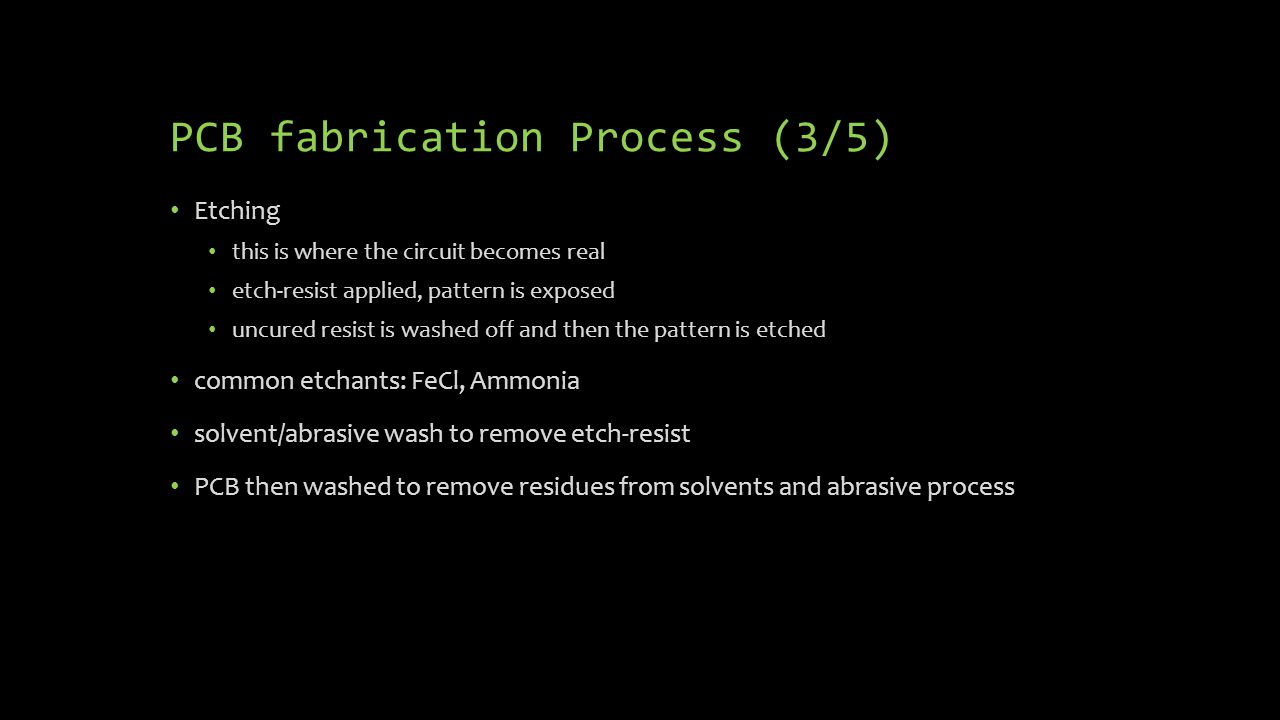 PCB fabrication Process (3/5)
