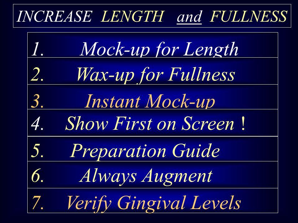 INCREASE LENGTH and FULLNESS
