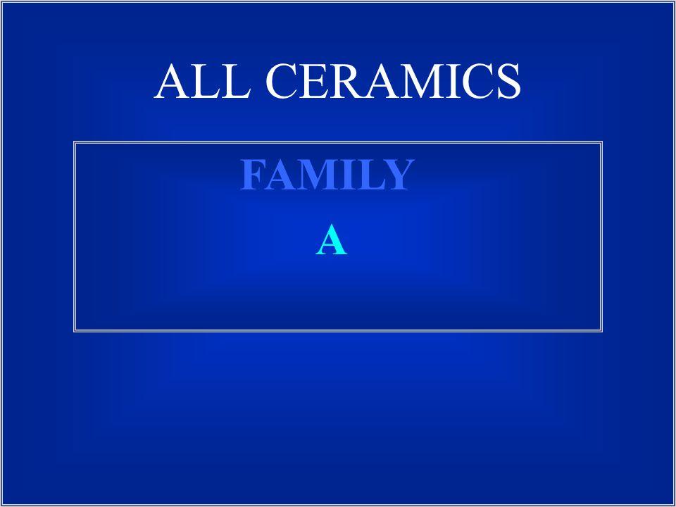 ALL CERAMICS FAMILY A