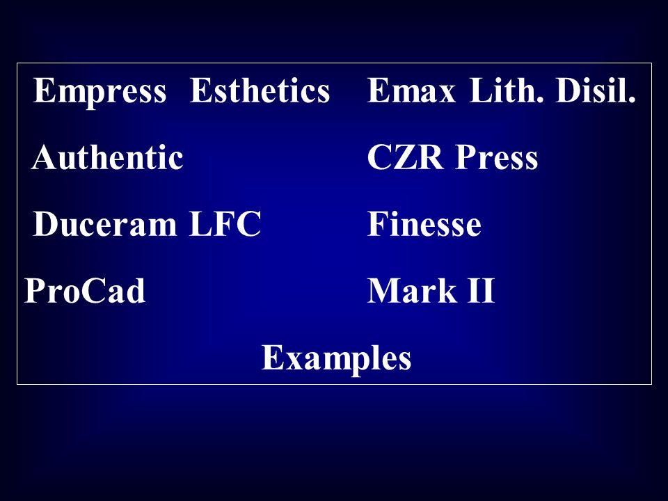 Empress Esthetics Emax Lith. Disil.