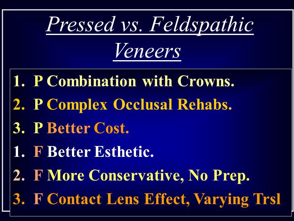 Pressed vs. Feldspathic Veneers