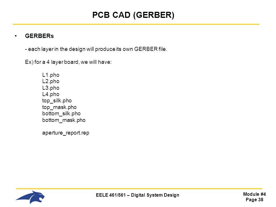 PCB CAD (GERBER)