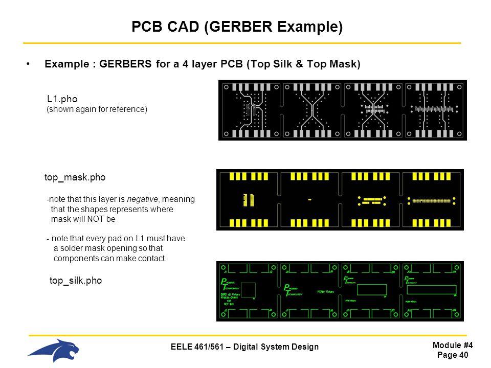 PCB CAD (GERBER Example)