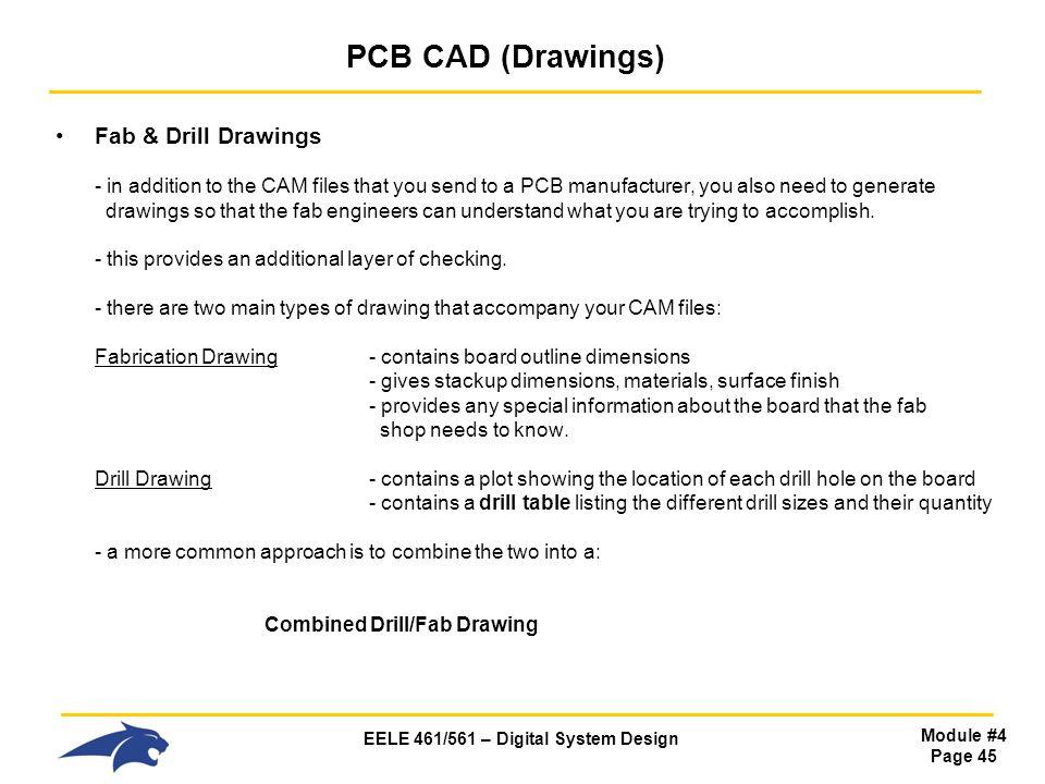 PCB CAD (Drawings)
