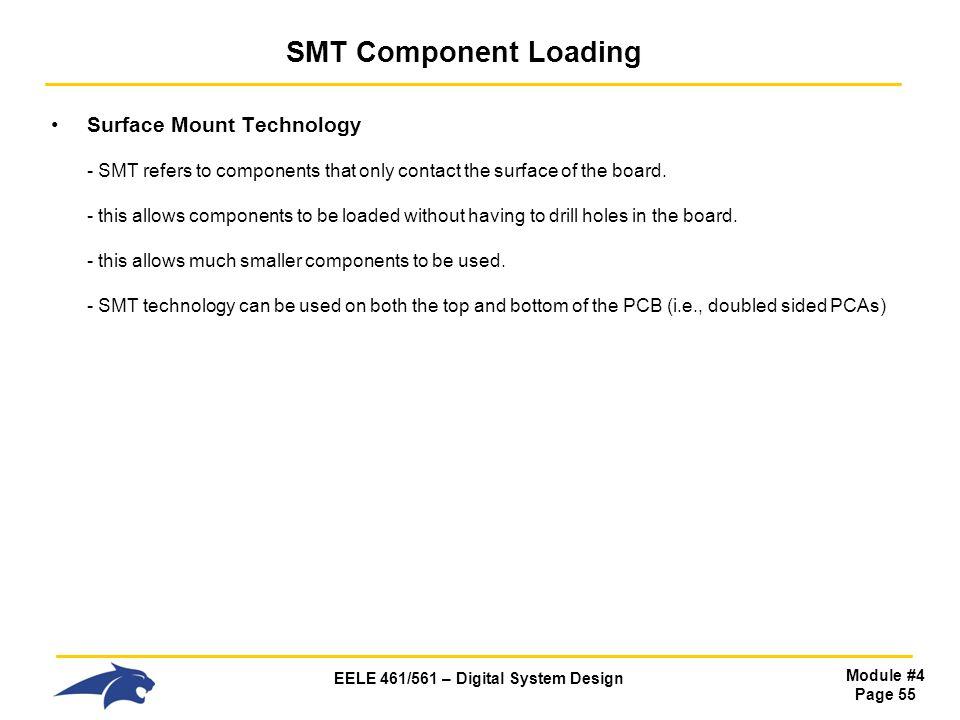 SMT Component Loading