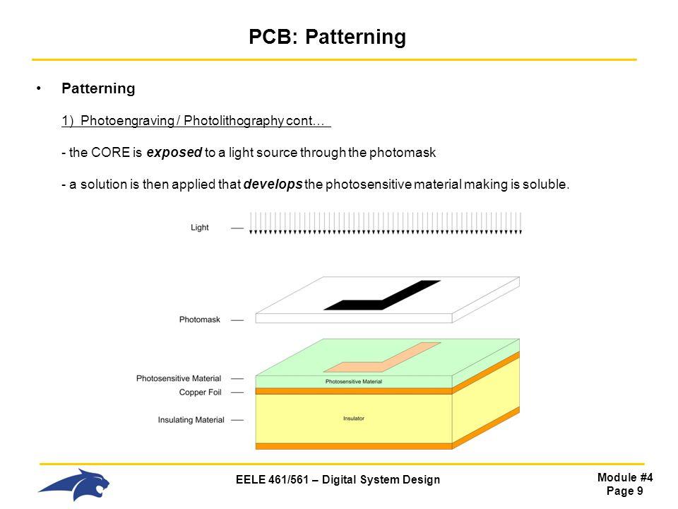 PCB: Patterning