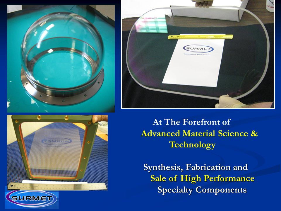 At The Forefront of Advanced Material Science & Technology