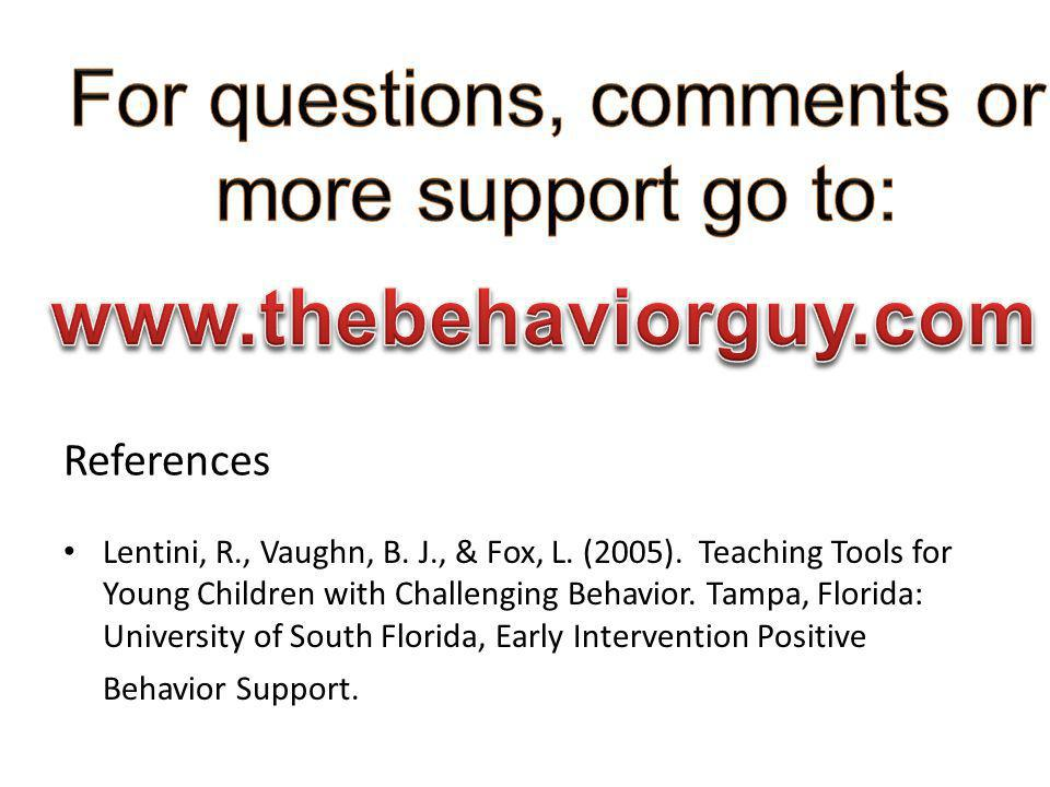 For questions, comments or more support go to: