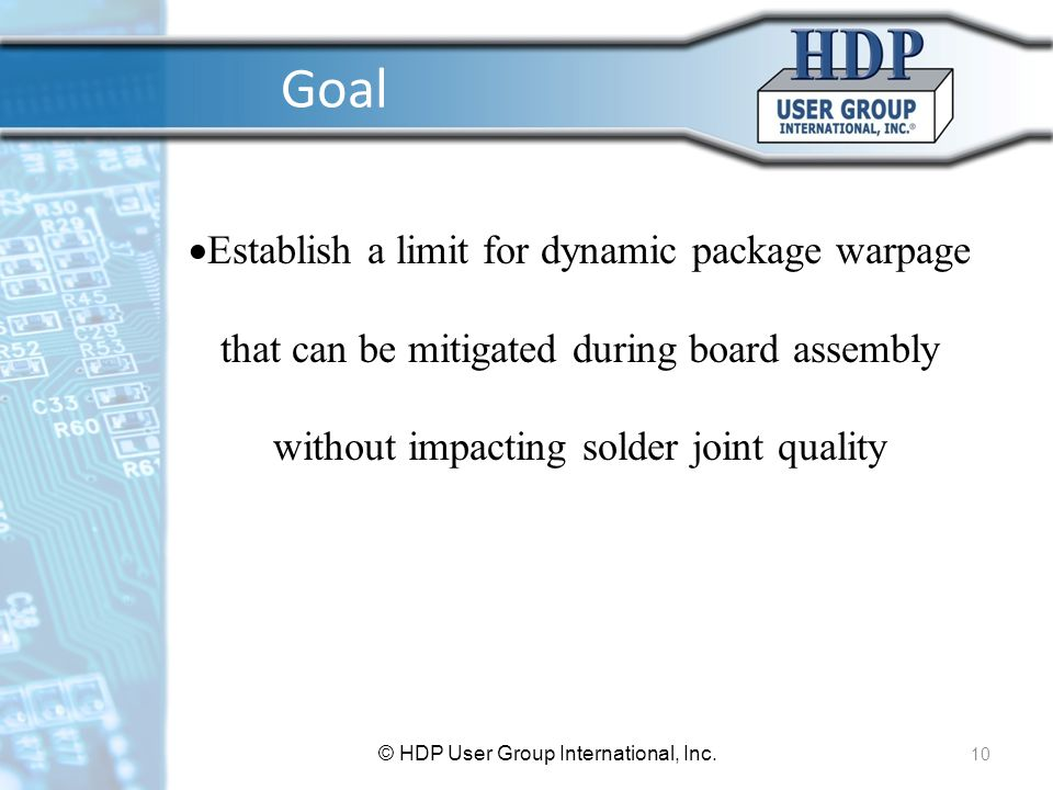 © HDP User Group International, Inc.